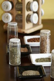 vertical spices with rack poster