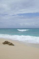 rock beach wave