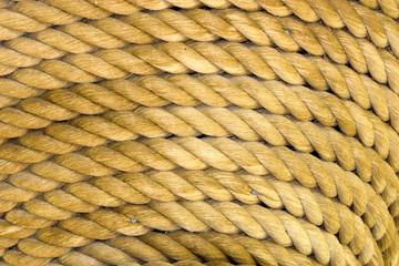 rop coil closeup