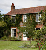 english village house poster
