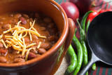 mexican chili with cheese