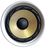 loud speaker poster