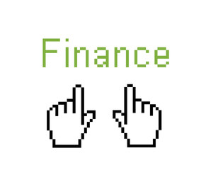 online finance - web shopping