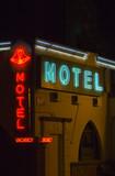 neon motel sign - ventura ca. poster