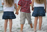 children holding hands