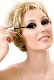 makeup application poster