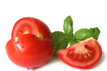 geschnittene tomate
