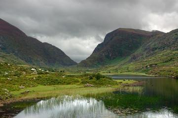 vallée et lac