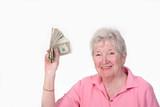 Fototapety happy with money