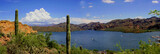 lake saguaro arizona panoramic