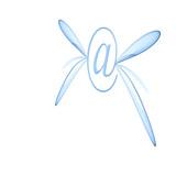 fluttering email poster