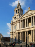 st paul cathedral in london poster