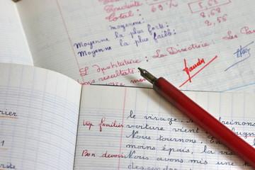 plume et cahier