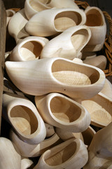 box filled with clogs