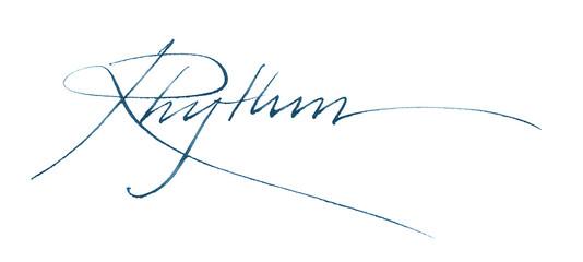 rhythm blue