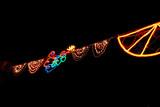festive lights poster
