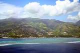 tahiti coral reef poster