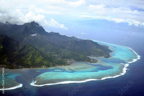 Leinwanddruck Bild moorea island