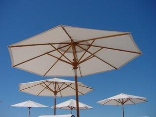 resort parasols