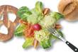 oberbayerischer salatteller