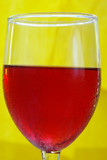 red/rose wine poster