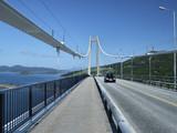 big suspension bridge in norway poster