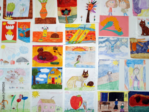 children's paintings