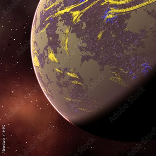 Foto op Aluminium Kosmos planet1