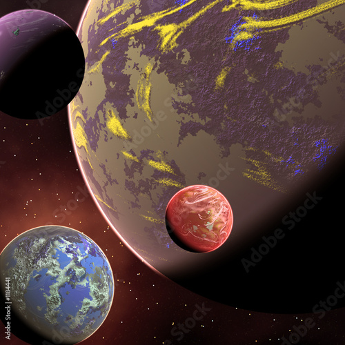 Foto op Aluminium Kosmos crowded orbit