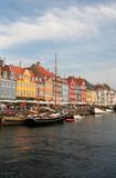 copenhagen, denmark, nyhavn harbour poster