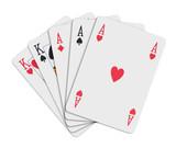 poker cards - full poster