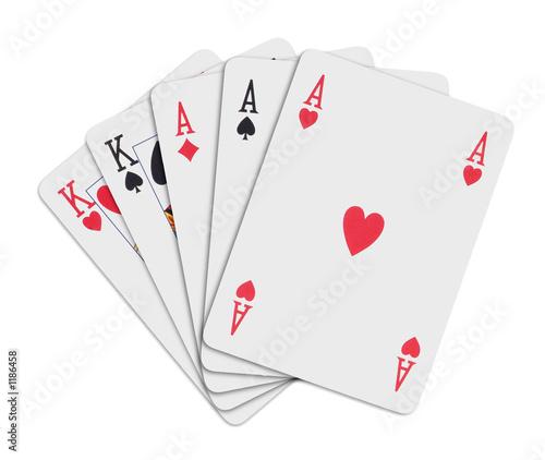 poker cards - full t-shirt