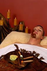 spa mayan facial masque
