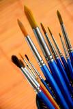 paintbrushes holder poster