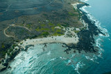 big island aerial shot poster