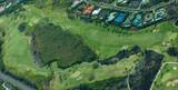 big island aerial shot - golfing poster