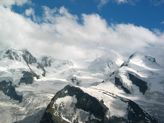 sacred mountains of alps