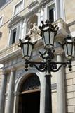 barcelona streetlight poster