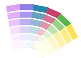 palette de couleur poster
