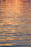water surface gold poster
