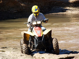 atv muddy trails poster