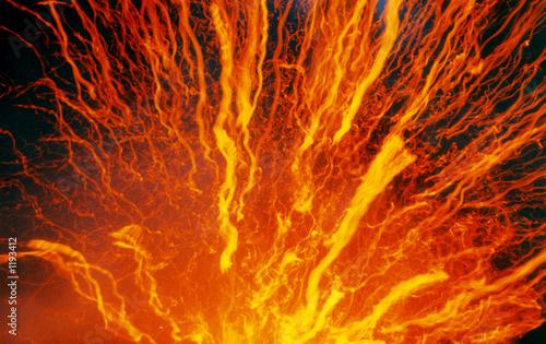 Leinwandbild Motiv volcan yasur gp