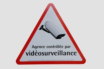 pannonceau vidéosurveillance