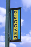 discover banner poster