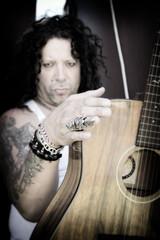 man with guitar
