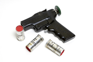 flare launcher with ammo