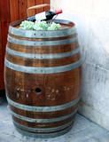 wine barrel poster