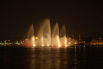 neva fountain