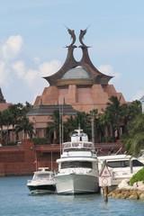 atlantis,bahamas,island,coast,ocean,inlet,harbor,d