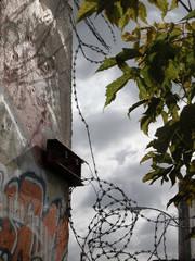 sad wall of berlin